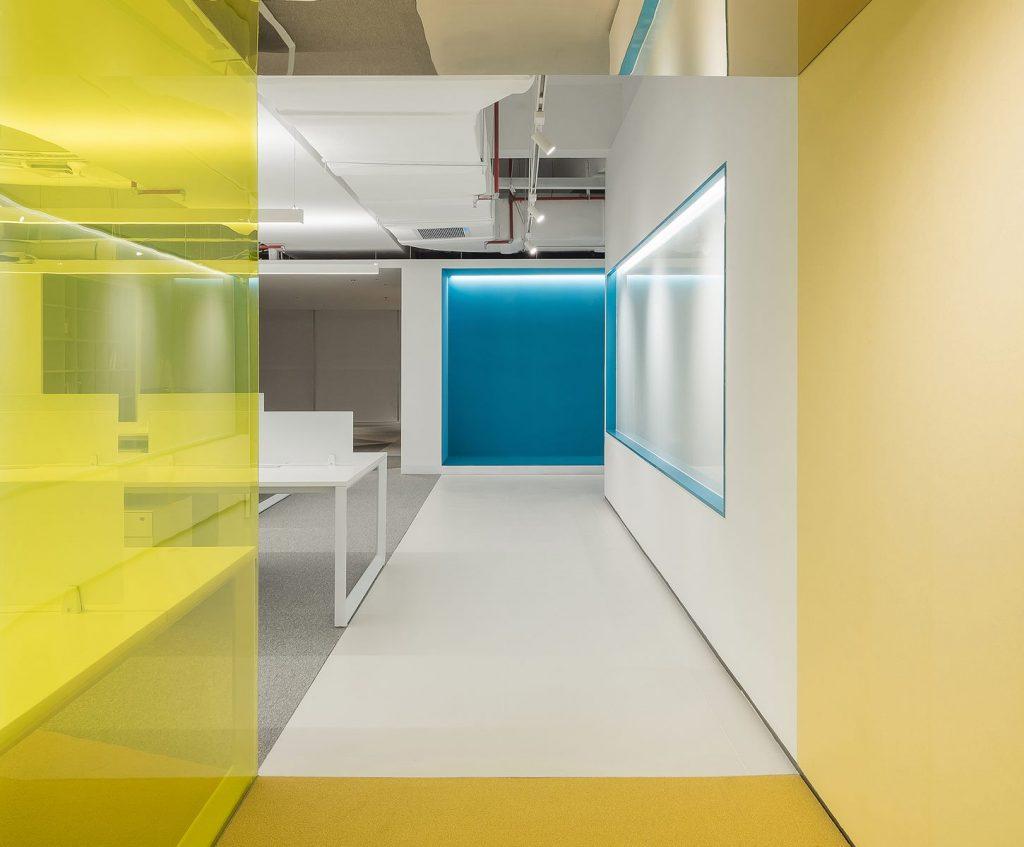 Oficina en el futuro: Sede de ViaBTC 22
