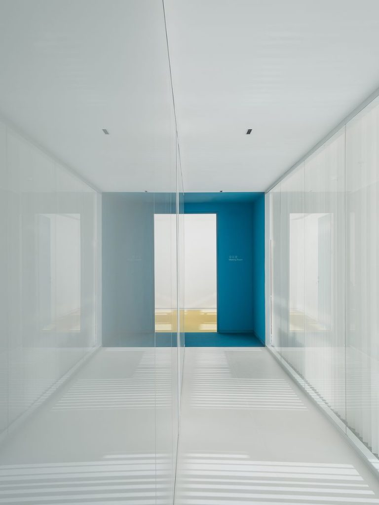 Oficina en el futuro: Sede de ViaBTC 24