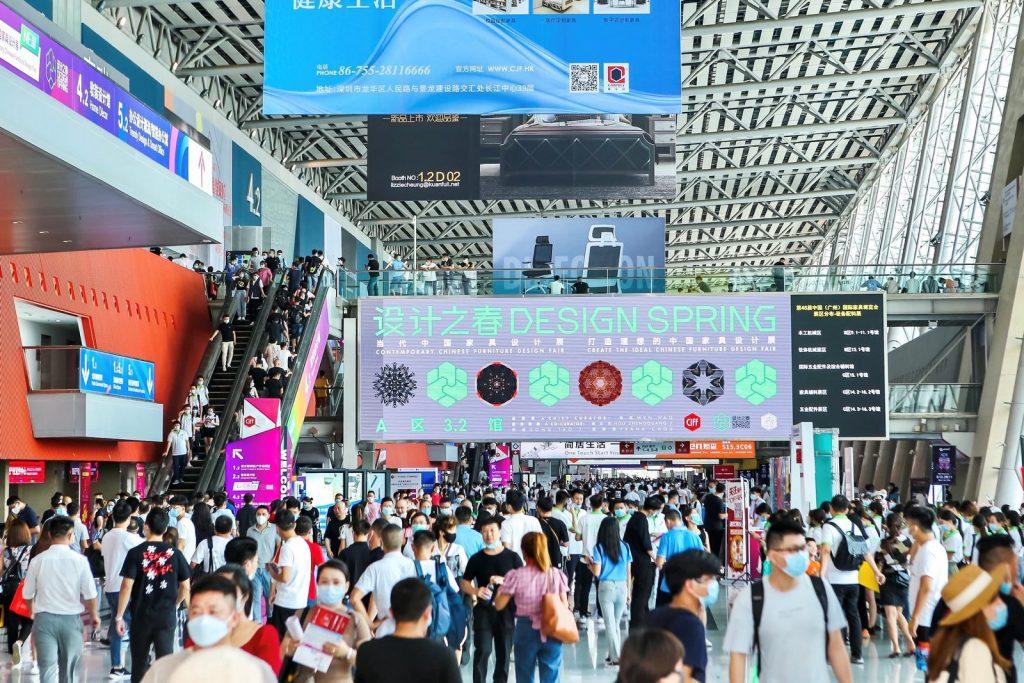 CIFF Guangzhou 2020. La primera feria del mueble celebrada durante la pandemia termina con éxito. 1