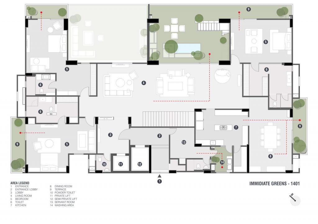 Penthouse Pāfekuto 9
