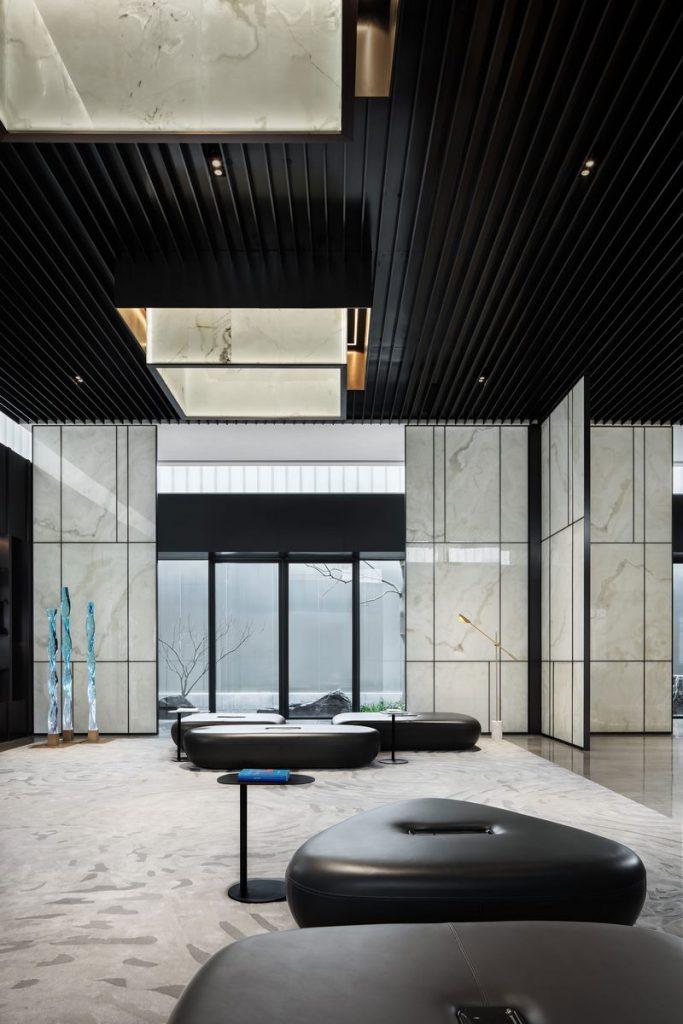 "Salón de Estética de la Vida ""Jin"" de la Magnífica Residencia de Greentown, Hangzhou, China 10"