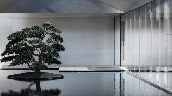 "Salón de Estética de la Vida ""Jin"" de la Magnífica Residencia de Greentown, Hangzhou, China 26"