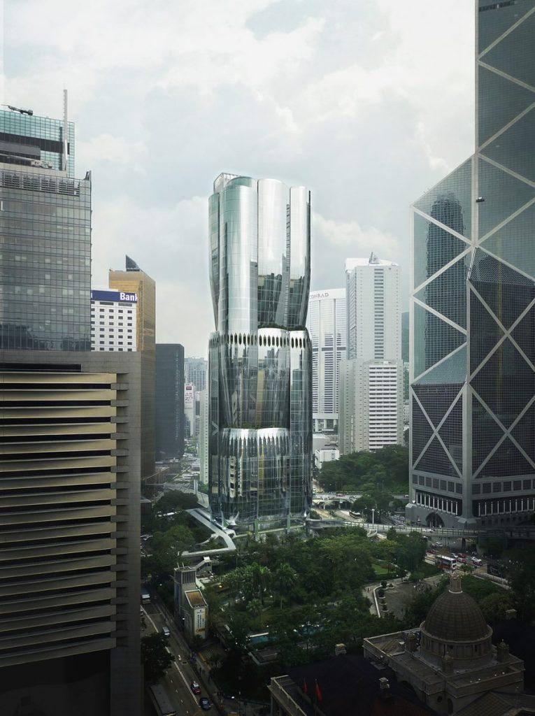 ZHA anuncia el diseño de 2 Murray Road en Hong Kong, China 1