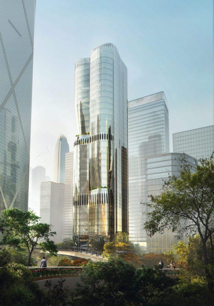 ZHA anuncia el diseño de 2 Murray Road en Hong Kong, China 2