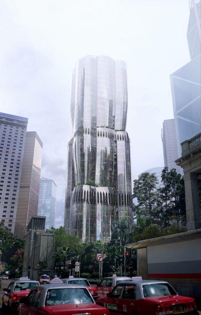 ZHA anuncia el diseño de 2 Murray Road en Hong Kong, China 5