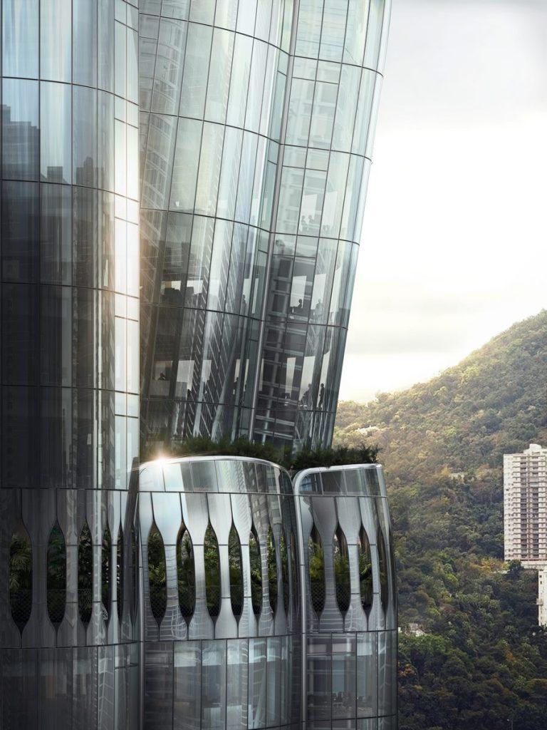 ZHA anuncia el diseño de 2 Murray Road en Hong Kong, China 6