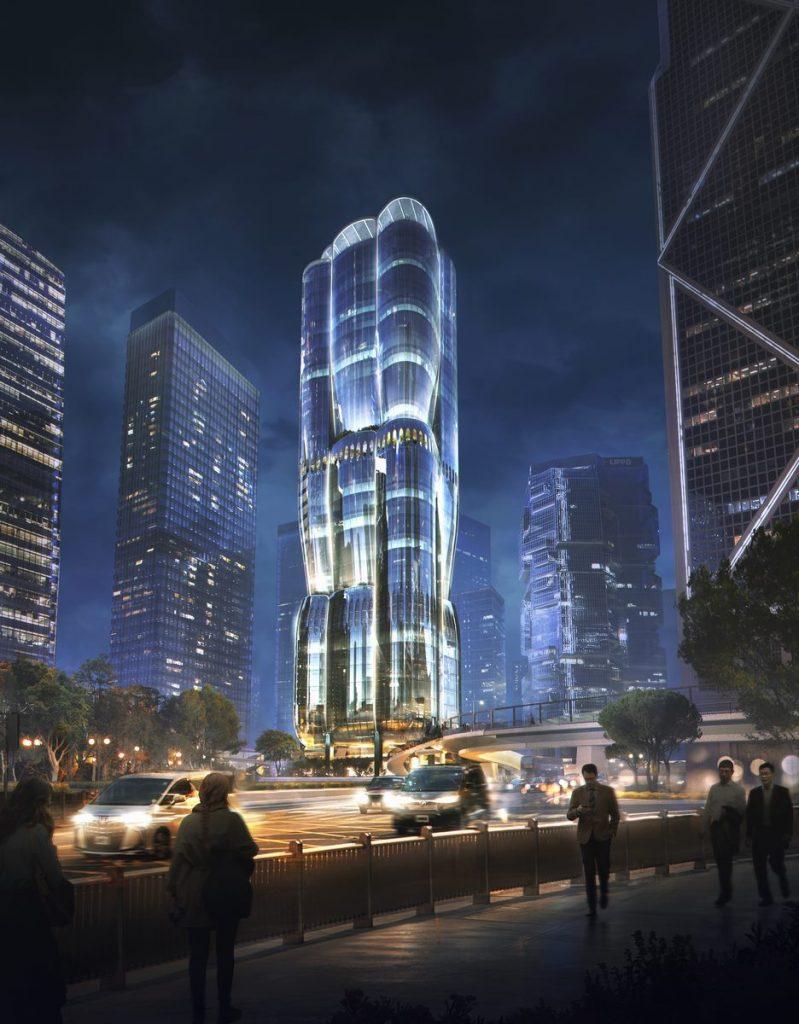ZHA anuncia el diseño de 2 Murray Road en Hong Kong, China 8