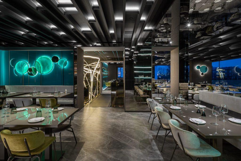 Restaurante Moya. Maurizio Lai define nuevos espacios para la experiencia gastronómica 16