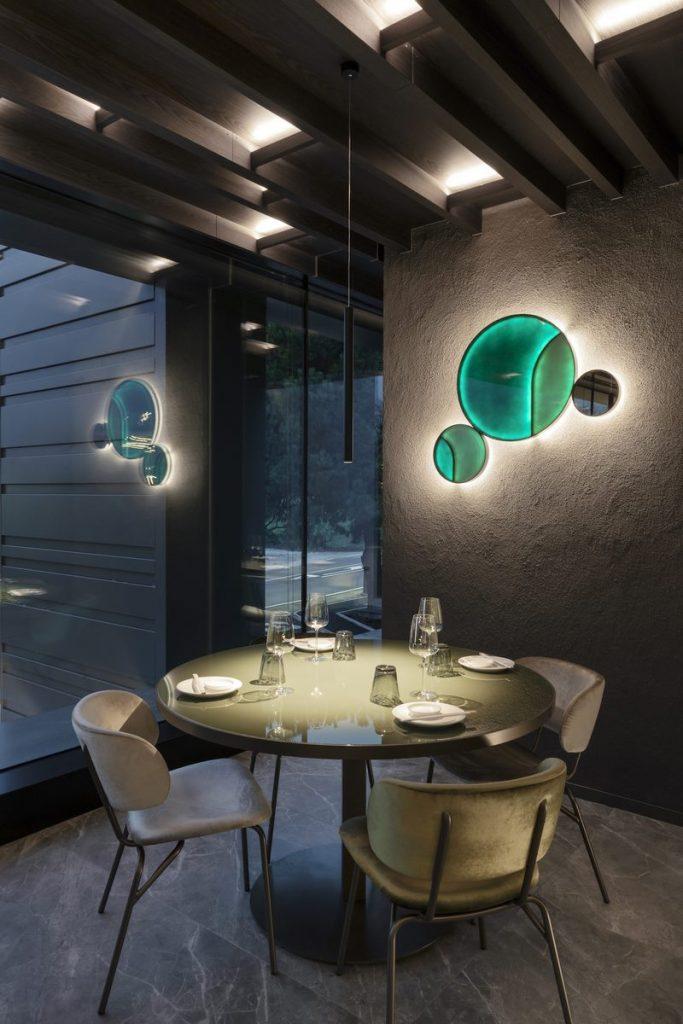 Restaurante Moya. Maurizio Lai define nuevos espacios para la experiencia gastronómica 7