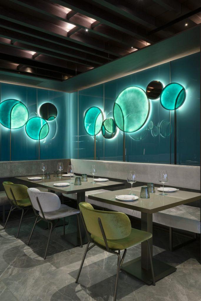 Restaurante Moya. Maurizio Lai define nuevos espacios para la experiencia gastronómica 10
