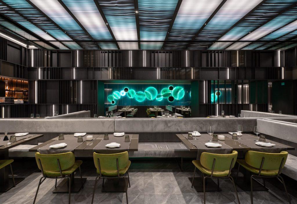 Restaurante Moya. Maurizio Lai define nuevos espacios para la experiencia gastronómica 5