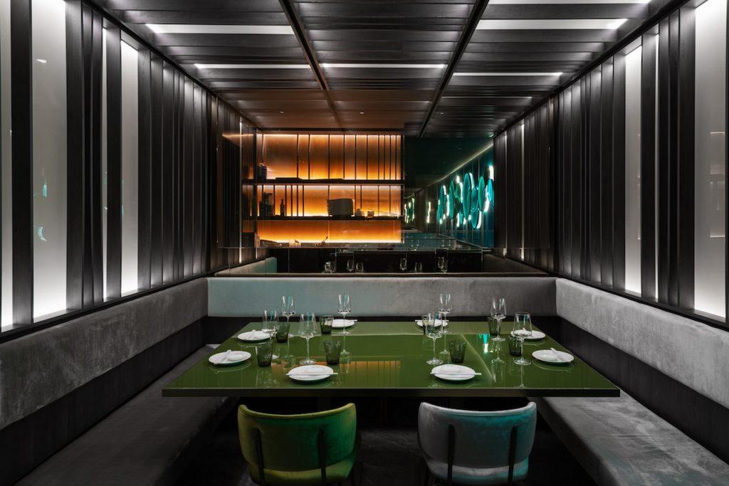 Restaurante Moya. Maurizio Lai define nuevos espacios para la experiencia gastronómica 20