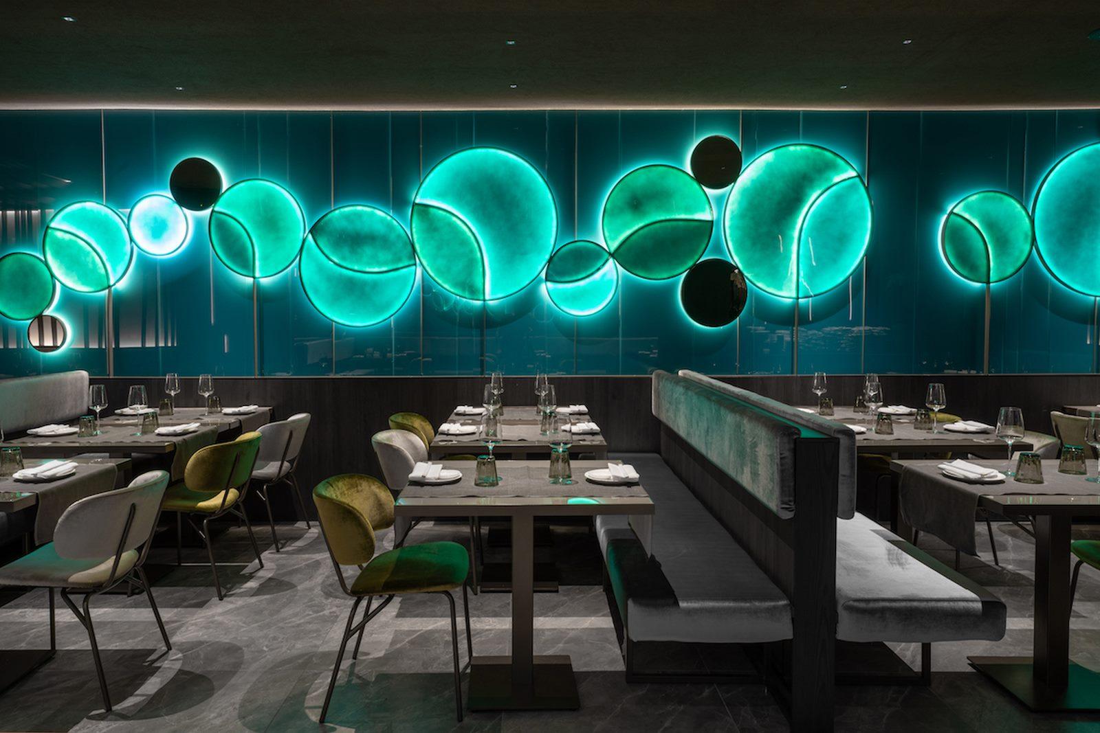 Restaurante Moya. Maurizio Lai define nuevos espacios para la experiencia gastronómica 24