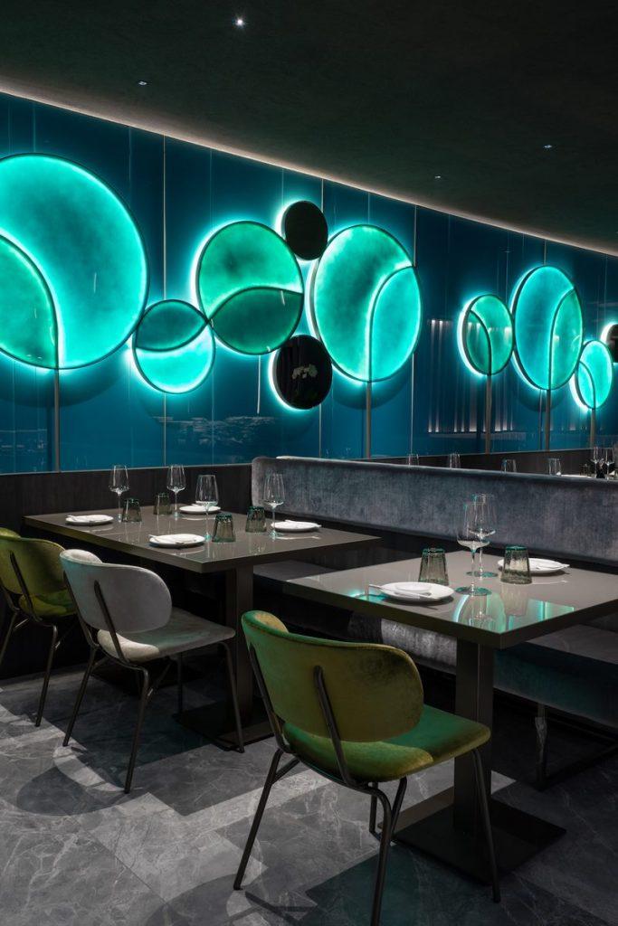 Restaurante Moya. Maurizio Lai define nuevos espacios para la experiencia gastronómica 17