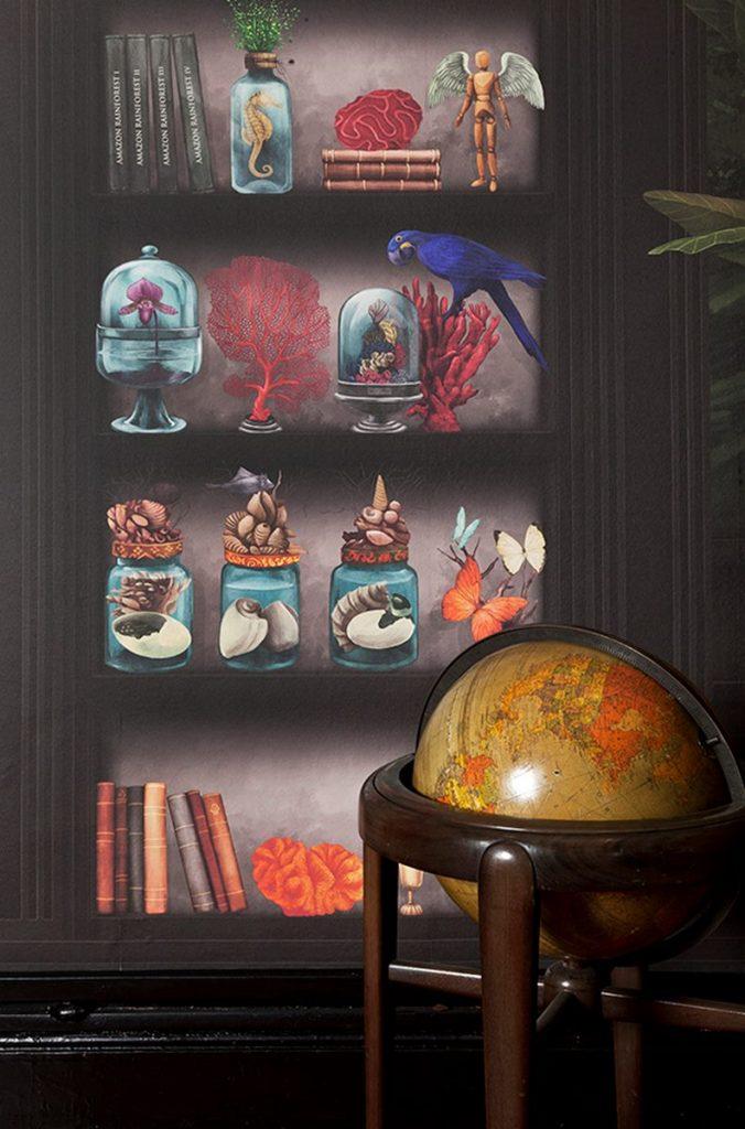 """Sofía Willemoës llama a la reflexión con """"THE ROOM, un mural inspirado en Amazonia"""" 2"""