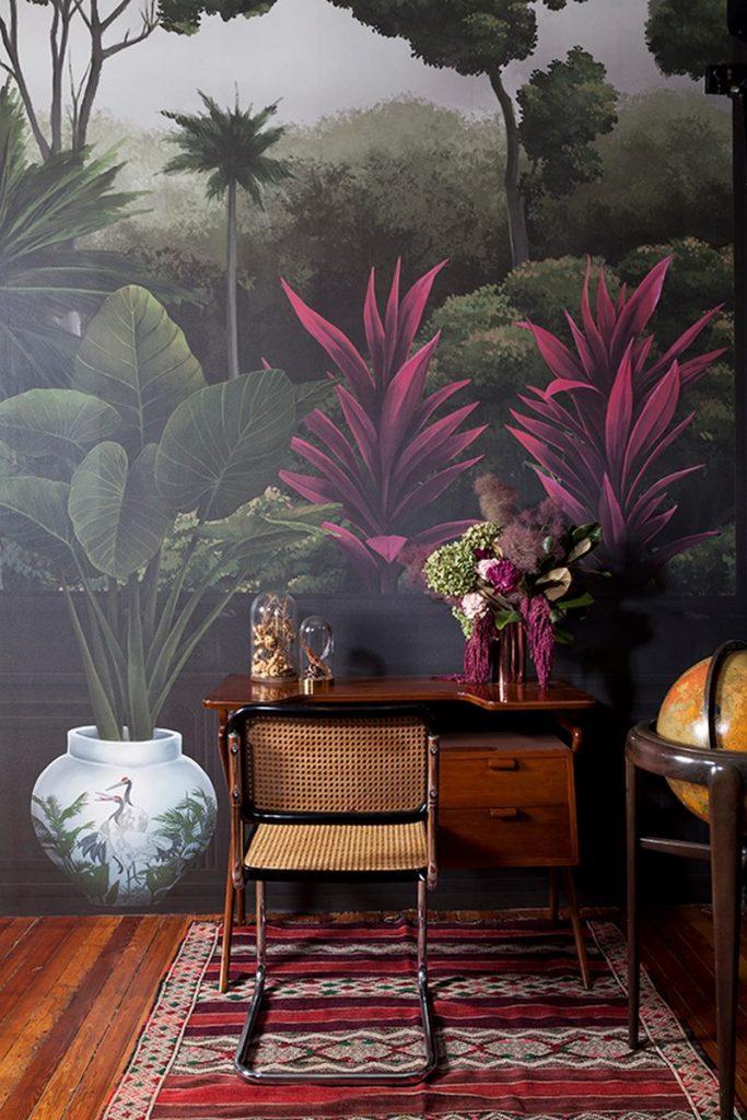 """Sofía Willemoës llama a la reflexión con """"THE ROOM, un mural inspirado en Amazonia"""" 6"""