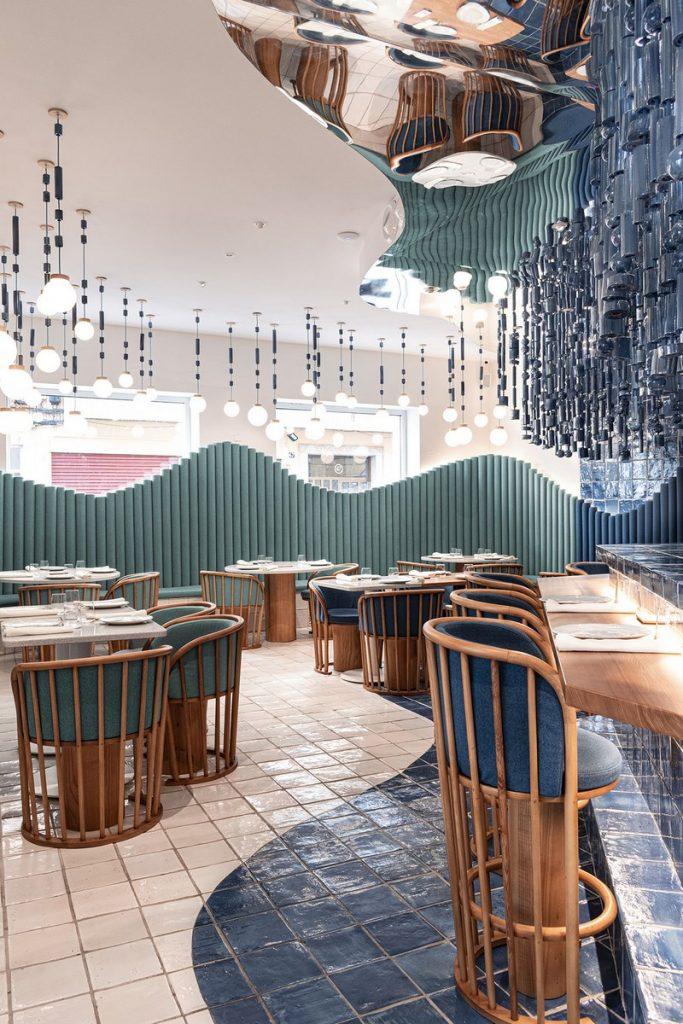 Masquespacio diseña restaurante La Sastrería en Valencia 3