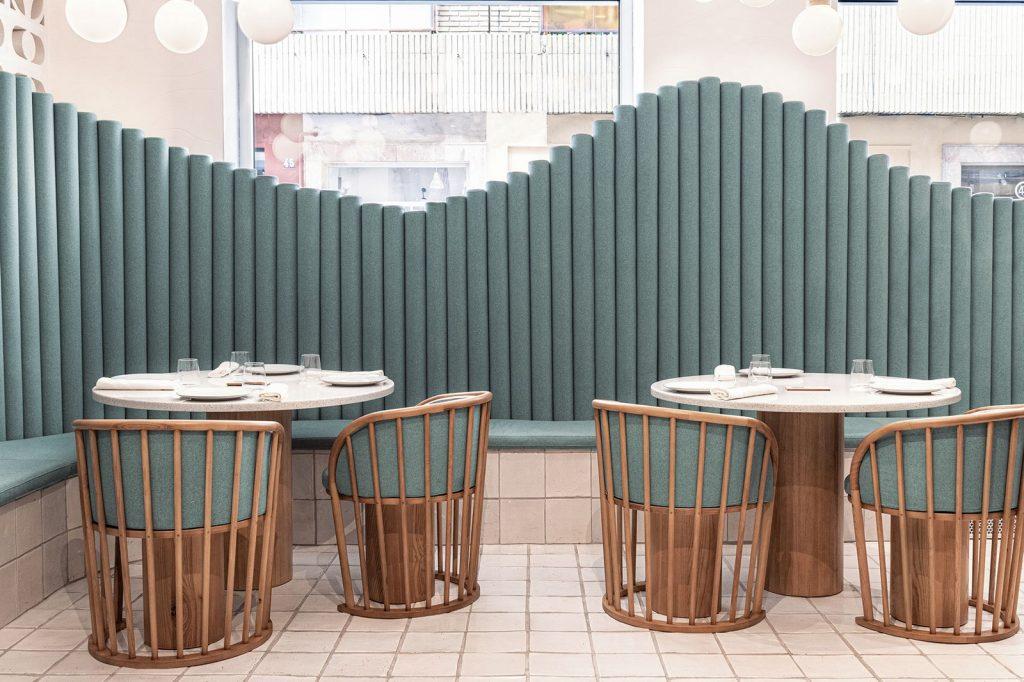 Masquespacio diseña restaurante La Sastrería en Valencia 6