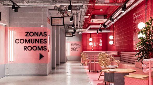 Masquespacio diseña la nueva residencia universitaria Resa San Mamés en Bilbao 21