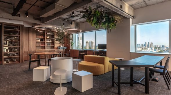 Oficinas de trabajo colaborativo 16