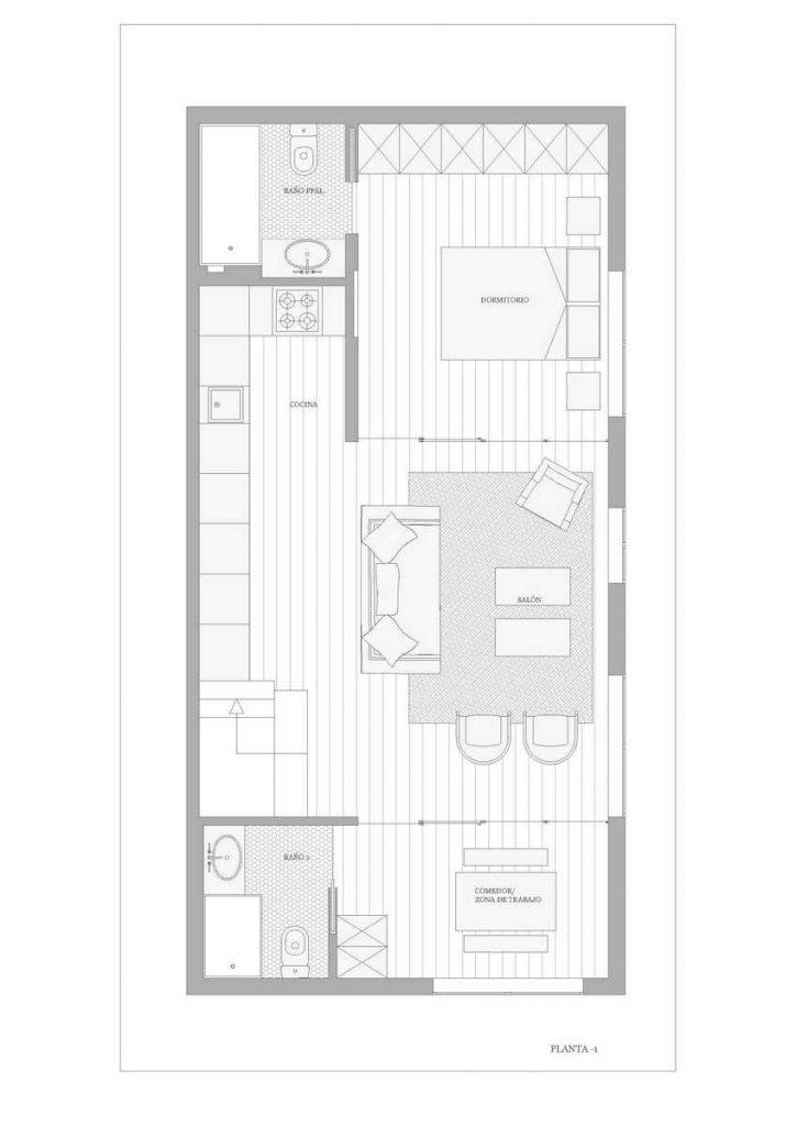 Apartamento en sótano 13