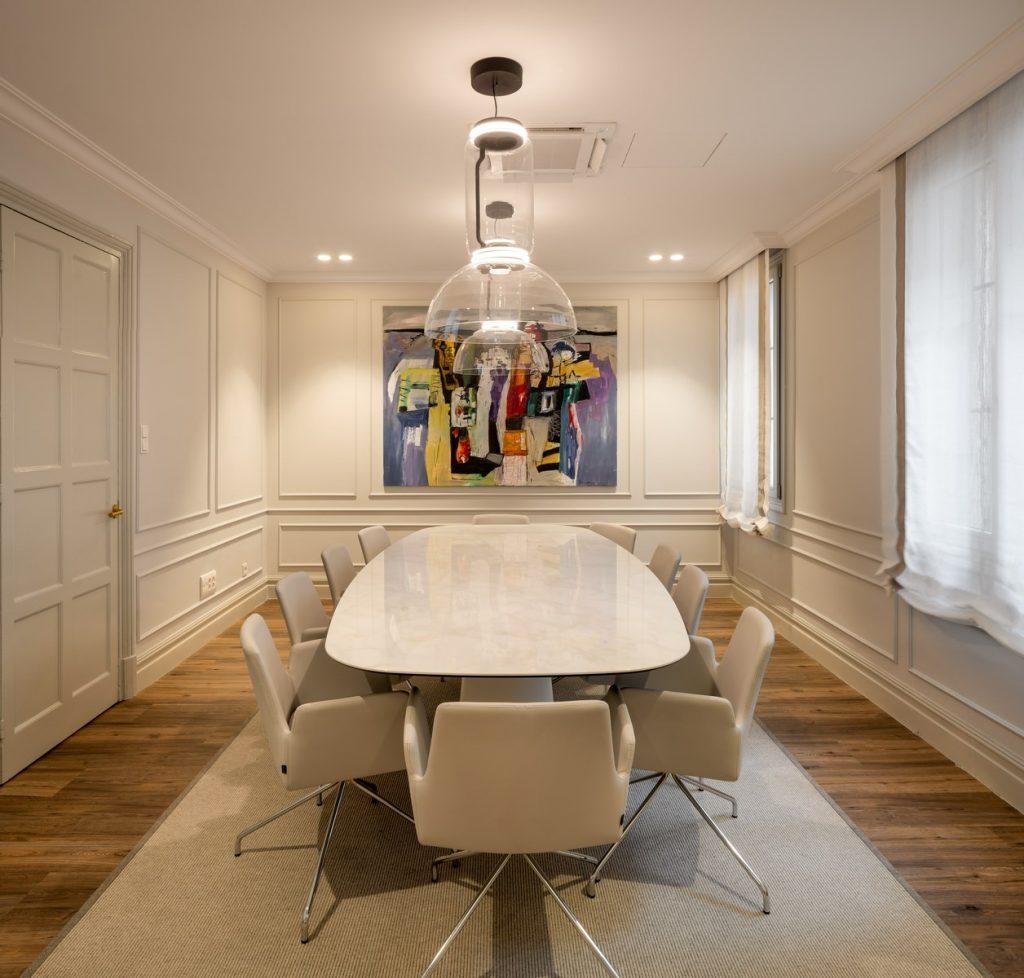 La creación de una galería de arte en unas oficinas 1