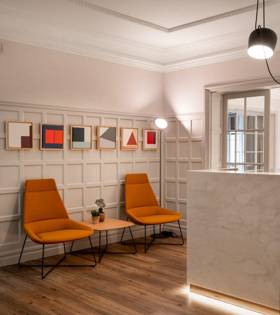 La creación de una galería de arte en unas oficinas 4