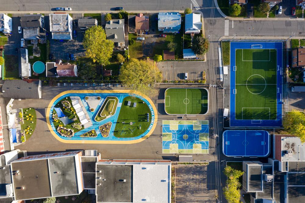 Collège Saint-Paul: llevar el interior al aire libre 1