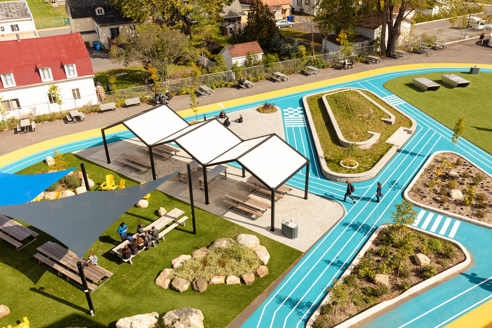 Collège Saint-Paul: llevar el interior al aire libre 8