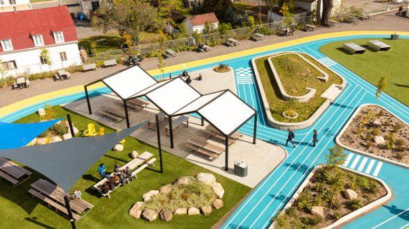 Collège Saint-Paul: llevar el interior al aire libre 19