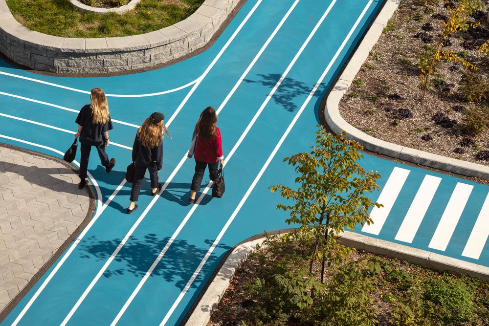 Collège Saint-Paul: llevar el interior al aire libre 10