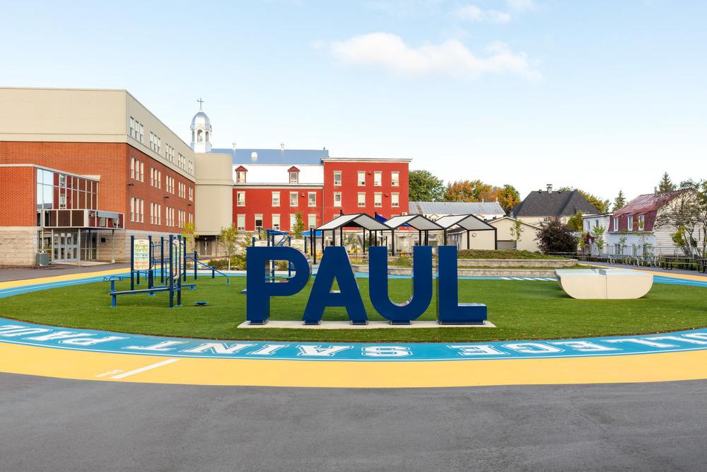 Collège Saint-Paul: llevar el interior al aire libre 12