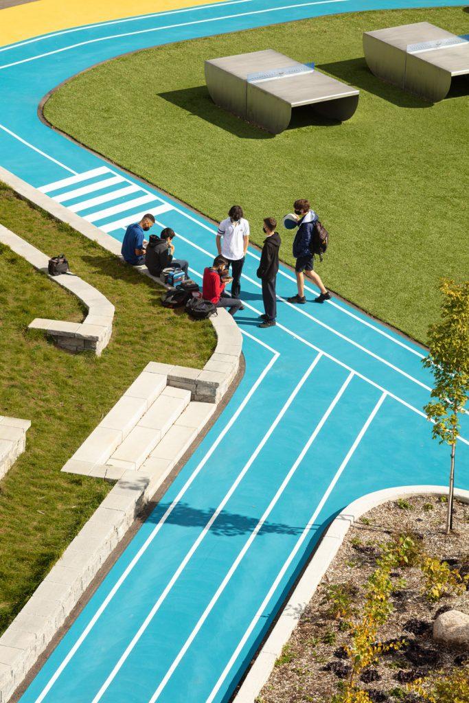 Collège Saint-Paul: llevar el interior al aire libre 17