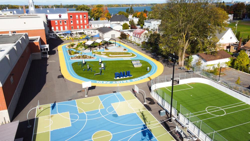 Collège Saint-Paul: llevar el interior al aire libre 15