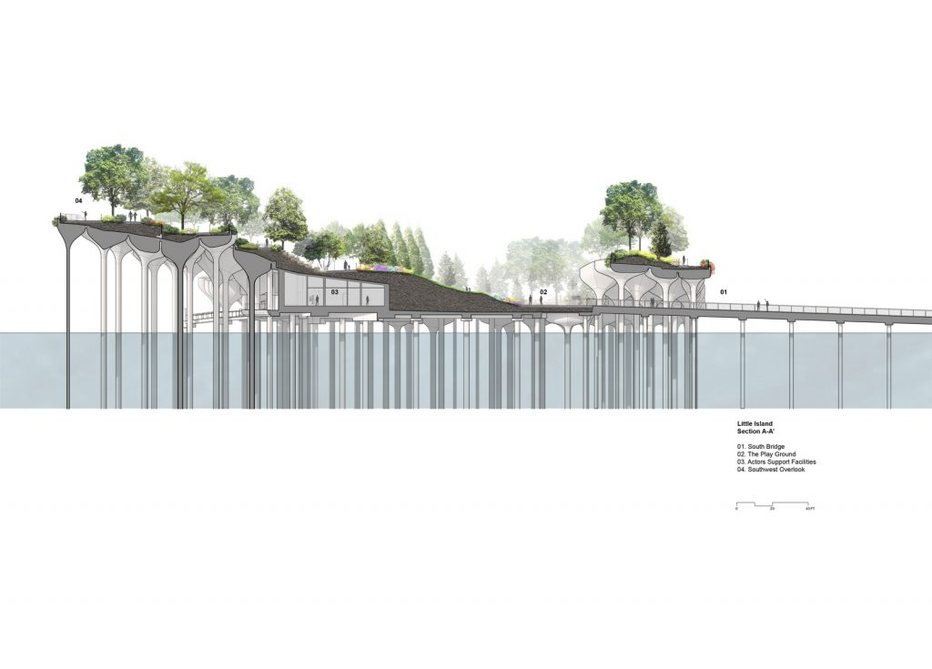 Thomas Heatherwick completó el parque y el teatro de Little Island en la ciudad de Nueva York 22