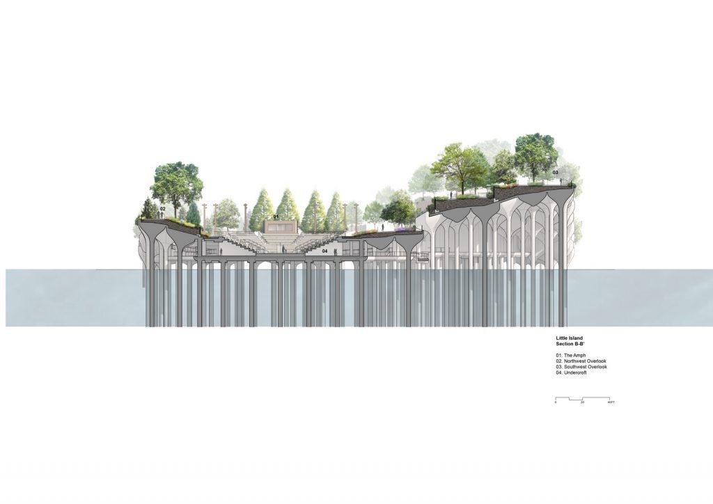 Thomas Heatherwick completó el parque y el teatro de Little Island en la ciudad de Nueva York 23