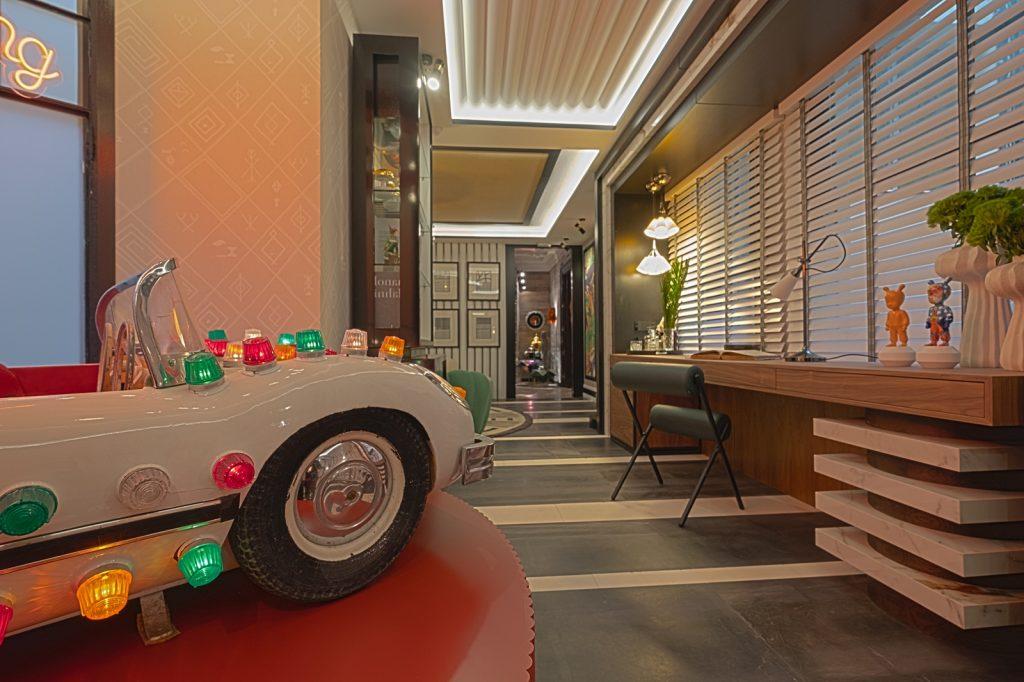 El interiorista Alberto Aranda invita a soñar como un niño con un sorprendente despacho en Casa Decor 2021 1