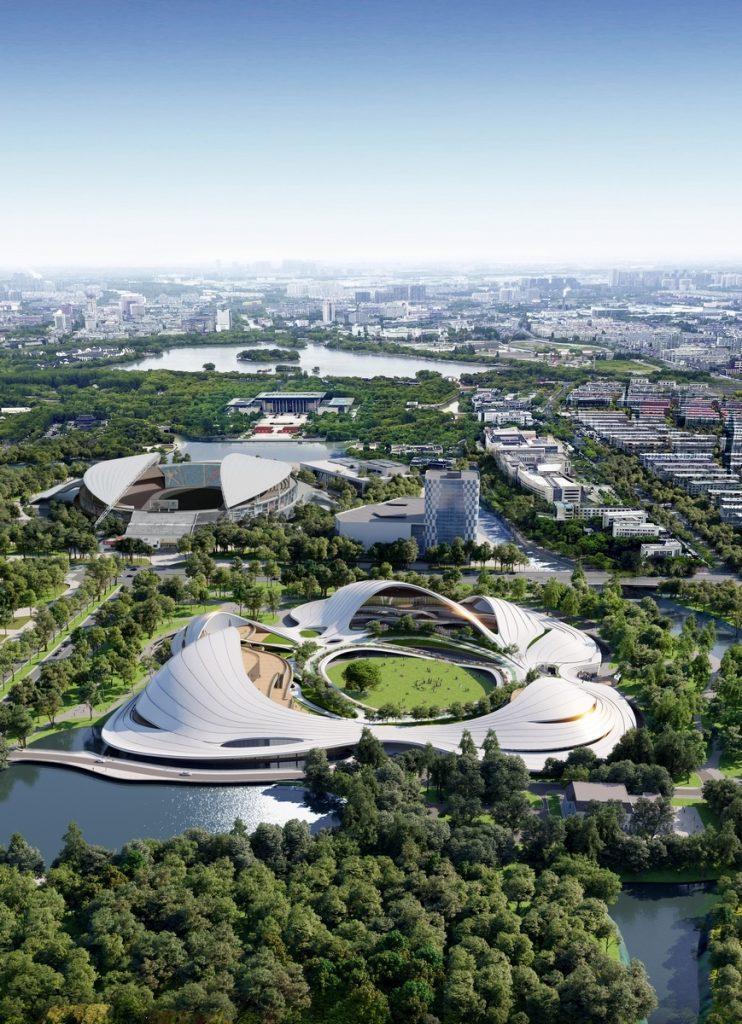 Un abrazo de la Ciudad - MAD Arquitectos Libera el diseño de la Jiaxing centro municipal 3