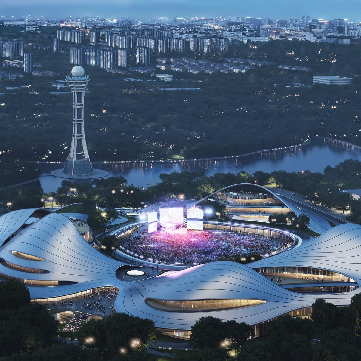 Un abrazo de la Ciudad - MAD Arquitectos Libera el diseño de la Jiaxing centro municipal 14