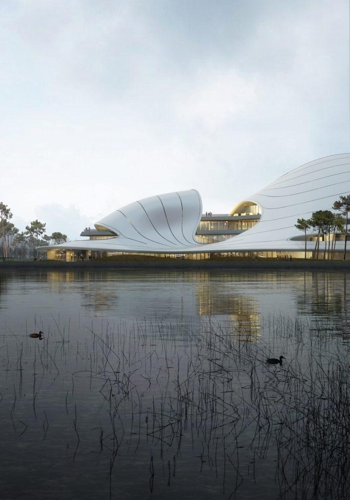 Un abrazo de la Ciudad - MAD Arquitectos Libera el diseño de la Jiaxing centro municipal 4