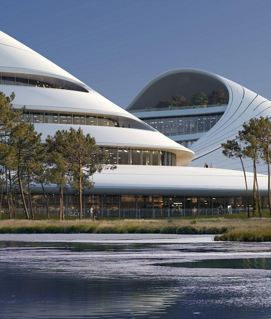 Un abrazo de la Ciudad - MAD Arquitectos Libera el diseño de la Jiaxing centro municipal 6