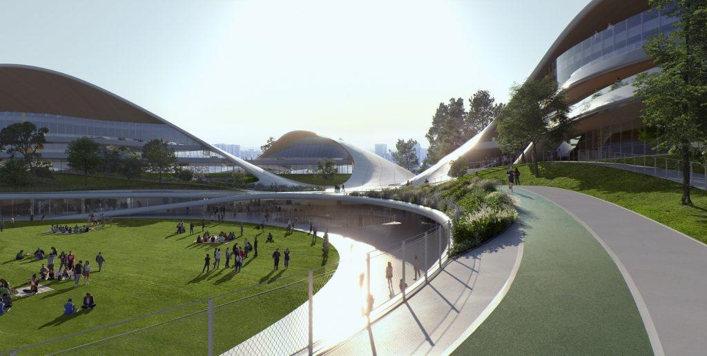 Un abrazo de la Ciudad - MAD Arquitectos Libera el diseño de la Jiaxing centro municipal 7