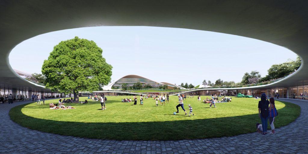 Un abrazo de la Ciudad - MAD Arquitectos Libera el diseño de la Jiaxing centro municipal 8