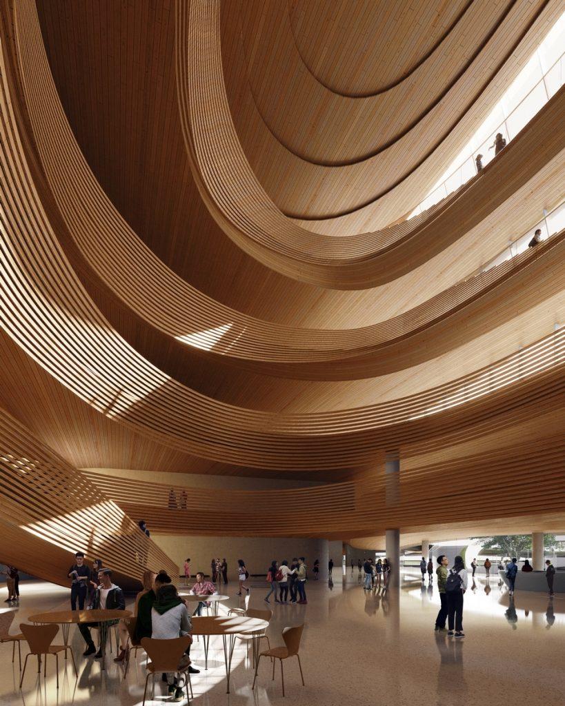 Un abrazo de la Ciudad - MAD Arquitectos Libera el diseño de la Jiaxing centro municipal 13