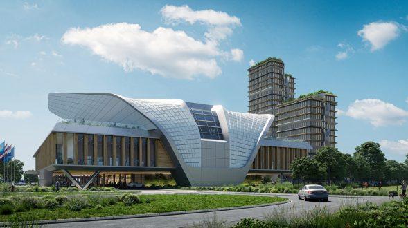UNStudio en el consorcio ganador para el diseño, construcción, financiación y funcionamiento de un centro de conferencias y congresos emblemático en los Países Bajos 1