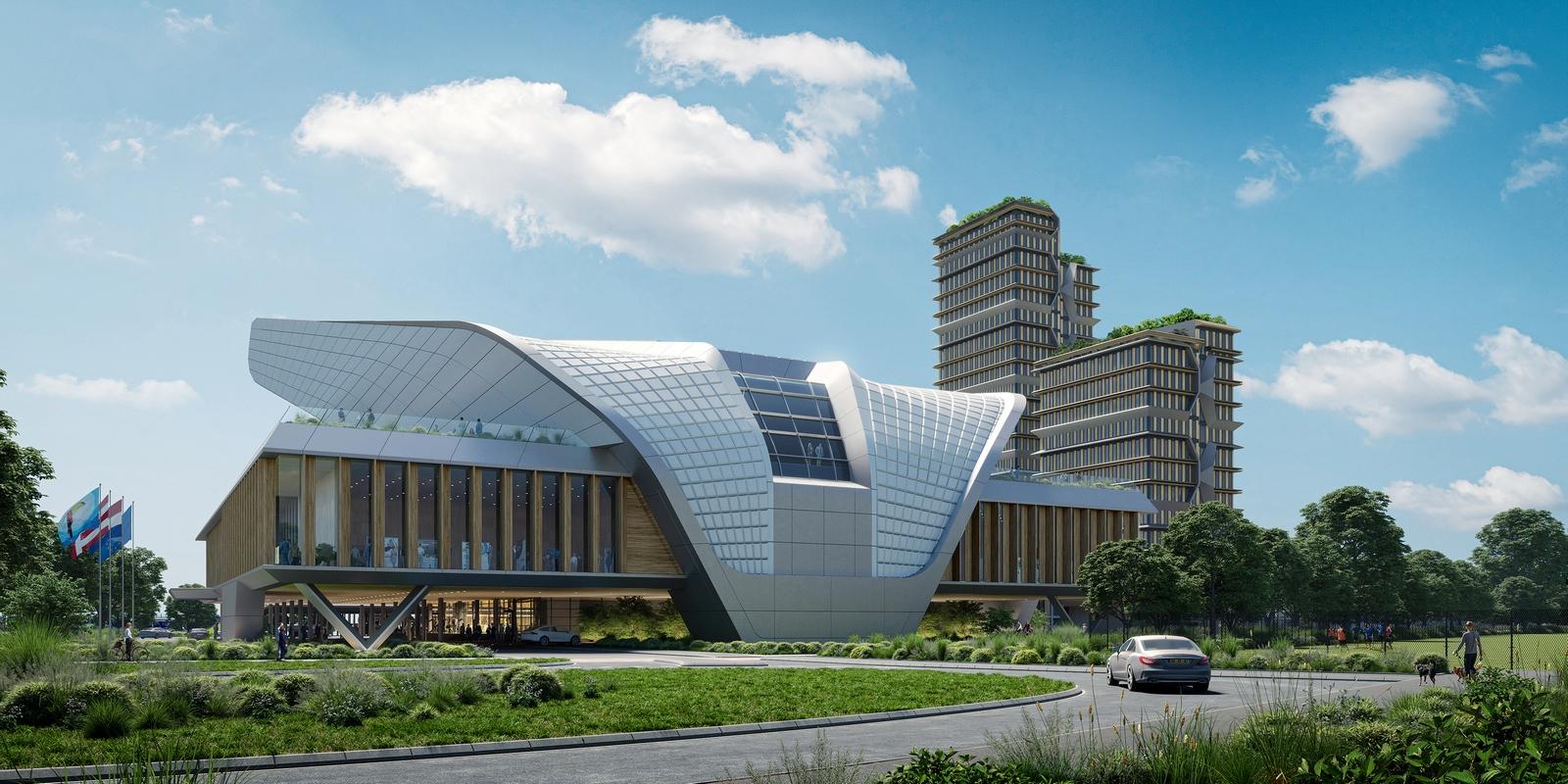 UNStudio en el consorcio ganador para el diseño, construcción, financiación y funcionamiento de un centro de conferencias y congresos emblemático en los Países Bajos 12
