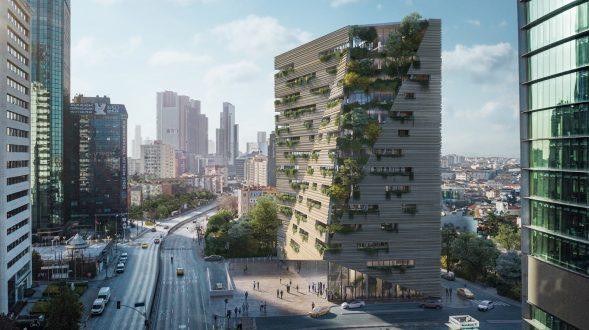 RMJM Milano gana el concurso para diseñar la sede de Sanko en Estambul, Turquía 12