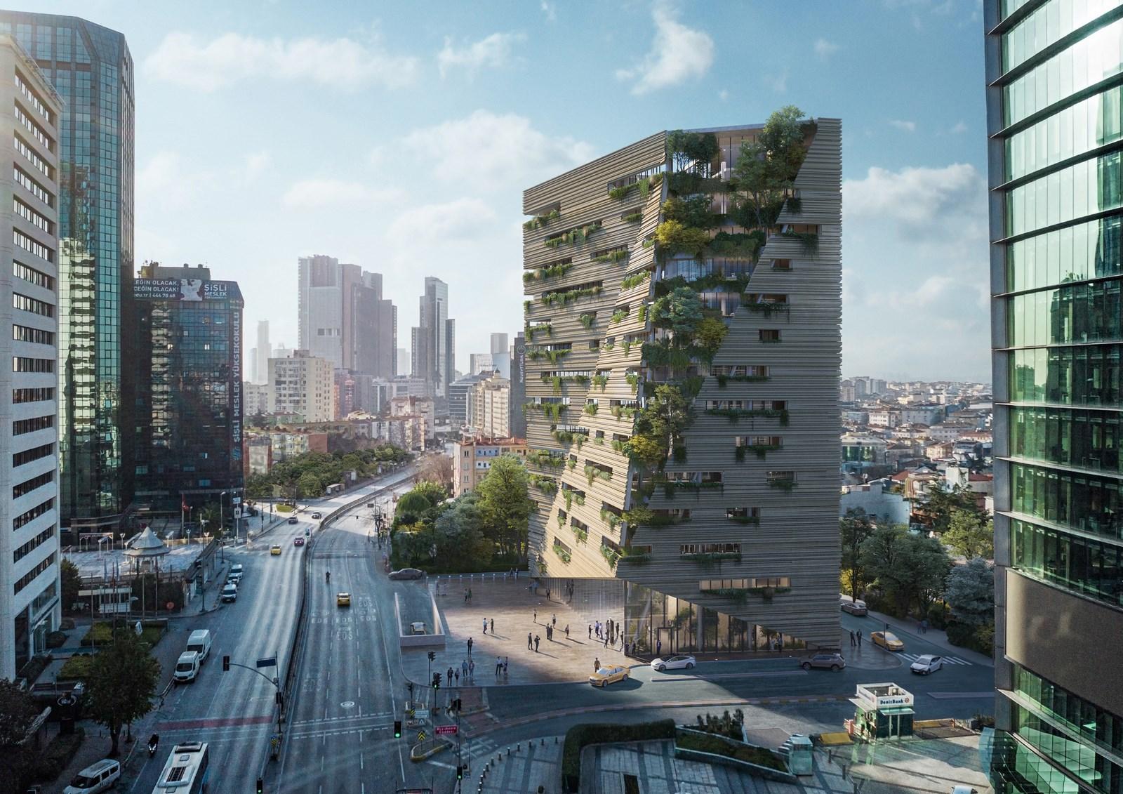 RMJM Milano gana el concurso para diseñar la sede de Sanko en Estambul, Turquía 4