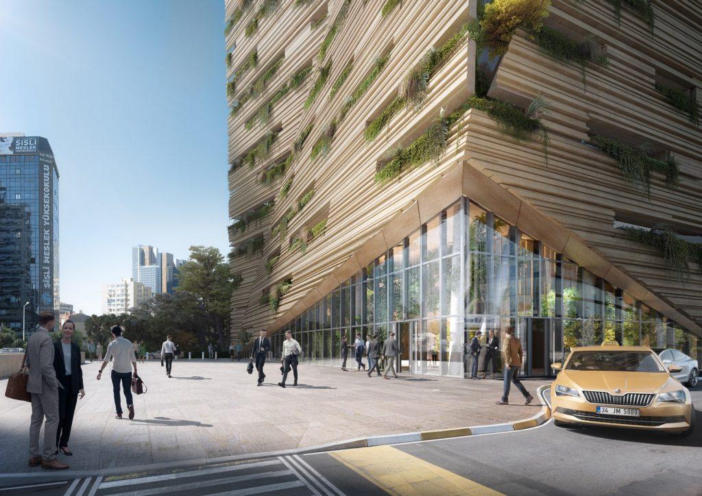 RMJM Milano gana el concurso para diseñar la sede de Sanko en Estambul, Turquía 3
