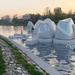 Oficina con vista al río: Co-working en el río Vístula, por Agnieszka Bialek 10